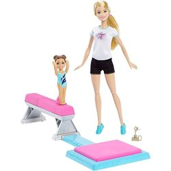 Barbie Flipping Fun Gymnast, Multicolor