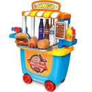 Webby Barbecue House Play Set With Roller Case, 33 Pieces