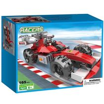 Webby Racers Formula F1 Racing Model Car Building Blocks Toy, 165 Pieces