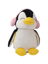 Dimpy Stuff Penguin With Muffler Stuff Toy, pink
