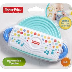 Fisher Price Harmonica Teether, Multicolor