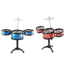 Saffire Drum Set With Stand, Color May Vary