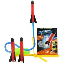 Webby Power Launcher Rocket, Multi Color, multicolor