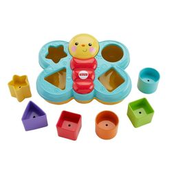 Fisher Price Butterfly Shape Sorter, Multicolor