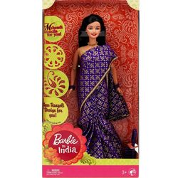 Barbie In India - Purple Sari