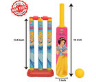 Itoys Disney Princess My First Cricket Set-Plastic, yellow