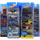 Hot Wheels 5 Cars Gift Pack, Styles May Vary, multicolor