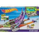 Hot Wheels Split Speeders Blade Raid Action Track Set - Multicolor
