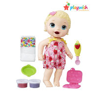 Babyalive Snacking Lily Brunette - Blonde Doll