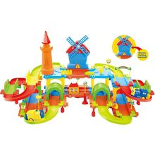 Webby Windmill Train Set, Multi Color, multicolor