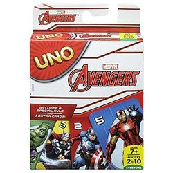 Uno Marvel Avengers Card Game, multicolor