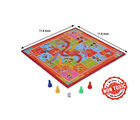 Itoys Disney Mickey 2 In 1 My First Fun Board-Write White Board With Snakes & Ladder Game, red