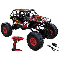 Webby 1: 10 2.4G 4WD RC Off Road Rock Crawler Monster Truck, Multi Color