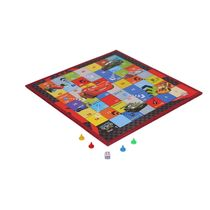 Itoys Disney Pixar Cars 2 In 1 My Play Fun Board-Write White Board With Game,  red