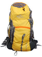 Himalayan Adventures Rucksack Hiking Backpack 60 Ltrs, yellow