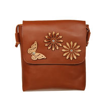 Adine Brown Women Sling Bag