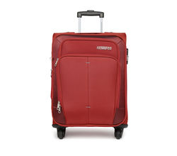 American Tourister Unisex Red Small Trolley Bag