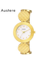 Austere Gayatri Gold Dial Women Watch (WGY-060606)