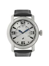 Fastrack Silver Dial Analog Watch For Men (3021SL0...
