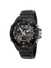 Laurels Digital Series Black Men Watch (LO-DIGI-VI-020202)