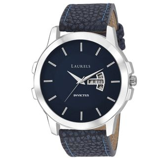 Laurels Invictus Series Blue Men Watch (LO-INC-603)