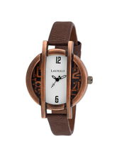 Laurels Cooper Color Analog Women's Watch With Str...