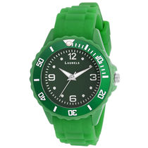 Laurels Ice Series Green Kids Watch (LO-IC-0404)