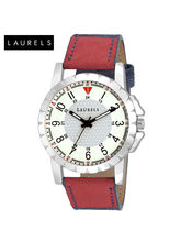 Laurels Sports Silver Dial Men Watch (Lo-Sports-20...