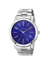 Laurels Blue Color Analog Men's Watch With Metal C...