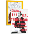 National Geographic+ Bloomberg Business week, 1 year, english