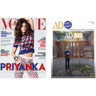 Vogue+ Architectural Digest, 1 year, english