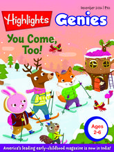 Highlights Genies (English 3 Year)