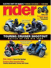 Rider, single issue, english