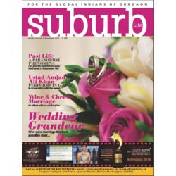 Suburb: The only lifestyle & Infotainment Magazine on Gurgaon, 1 year, english