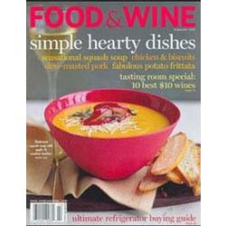 Food & Wine, 1 year, english
