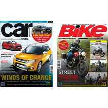 Car India+ Bike India, 1 year, english