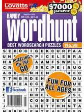 Handy Wordhunt, english, 1 year