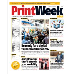 PrintWeek, 1 year, english