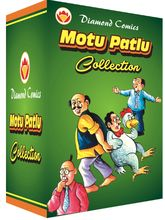 Motu Patlu Box 1, english, 1 year