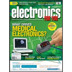 Electronics For You, 1 year, english