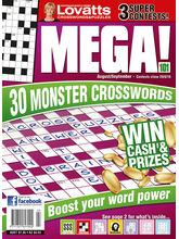 MEGA Crosswords, english, 1 year