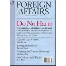 Foreign Affairs, 1 year, english