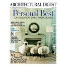 Architectural Digest, 1 year, english