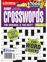 Handy Crosswords, 1 year, english