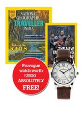 National Geographic + National Geographic Traveller India (English, 1 Year)