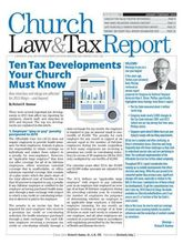 Church Law & Tax Report, 1 year, english