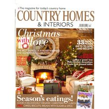 COUNTRY HOMES & INTERIORS, english, 1 year