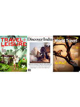 (Travel+ Leisure) + (Discover India) + (Selling World Travel), 1 year, English