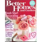 Better Homes & Garden, 1 year, english