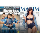 Maxim India+ Sports Illustrated India (English), 1 year, english